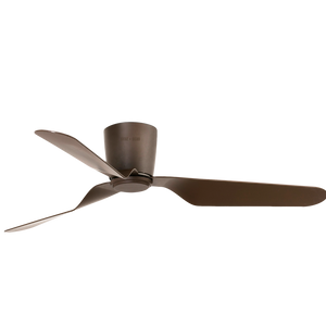 BROWN SLICE CEILING FAN