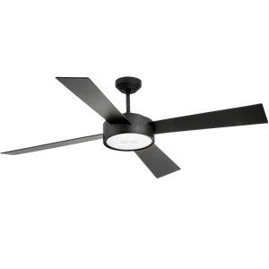 REMOTE LED BLACK CEILING FAN