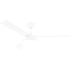 WHITE LED LAMP CEILING FAN