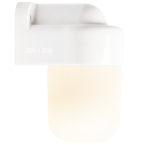 E27 CERAMIC WALL LIGHT FROSTED