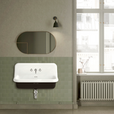 CERAMIC MOUNTED LARGE SINK WHITE