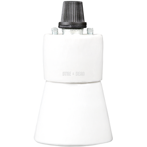 CERAMIC FLARED BULB HOLDER