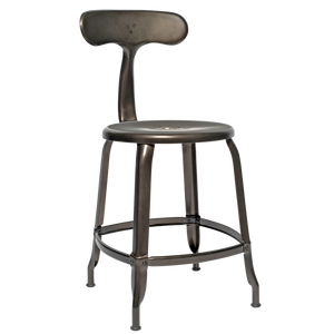 NICOLLE CHAIR STEEL 45cm