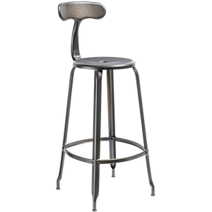 NICOLLE CHAIR STEEL 75cm