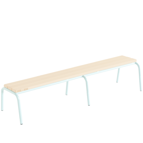 CHILDREN'S TUBULAR D&D STACKING BENCH LONG