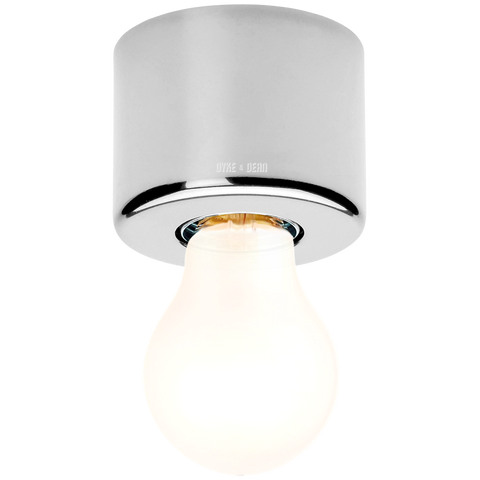 CHROME REFLECTOR LAMP