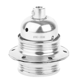 CHROME PLATED E27 BULB HOLDER