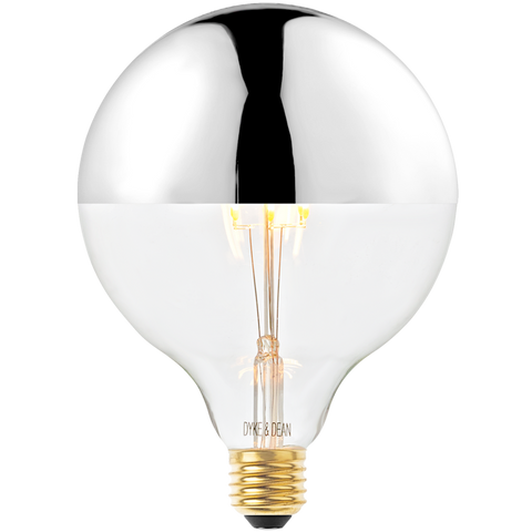 DYKE & DEAN LED SILVER CAP MEGA E27 BULB - BULBS - DYKE & DEAN  - Homewares | Lighting | Modern Home Furnishings