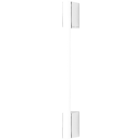 CHROME PEG TUBE BULB DOUBLE MOUNT 500