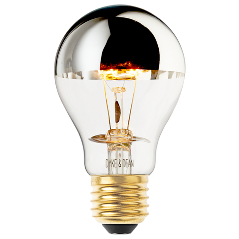 MIRROR CROWN STANDARD E27 BULB 60W - BULBS - DYKE & DEAN  - Homewares | Lighting | Modern Home Furnishings