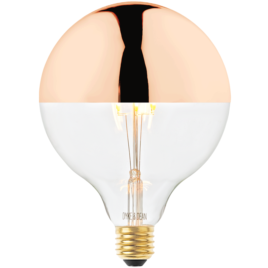 DYKE & DEAN LED COPPER CAP MEGA FILAMENT STYLE BULB E27