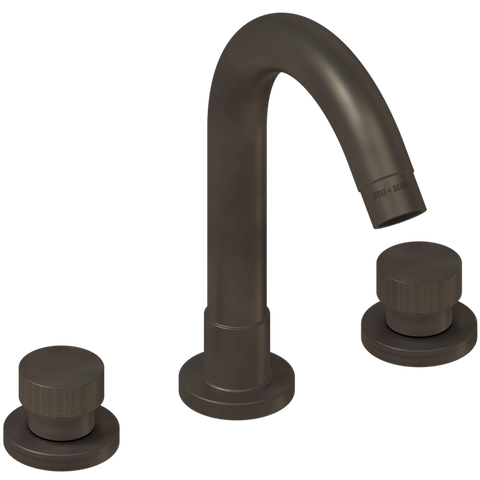WASH BASIN SET SPOUT KNURLED TAPS