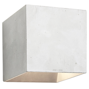 CONCRETE WALL LAMP GREY