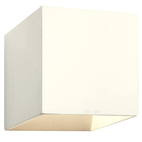 CONCRETE WALL LAMP IVORY