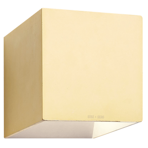 CONCRETE WALL LAMP YELLOW