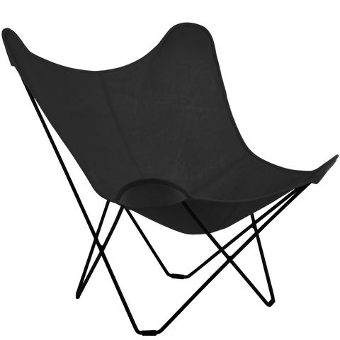 CUERO BUTTERFLY OUTDOOR CHARCOAL CHAIR