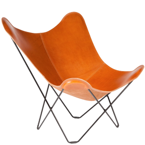 CUERO BUTTERFLY CHAIR POLO LEATHER