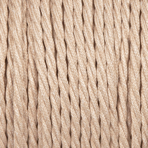 CANVAS / LINEN STYLE TWISTED FABRIC CABLE