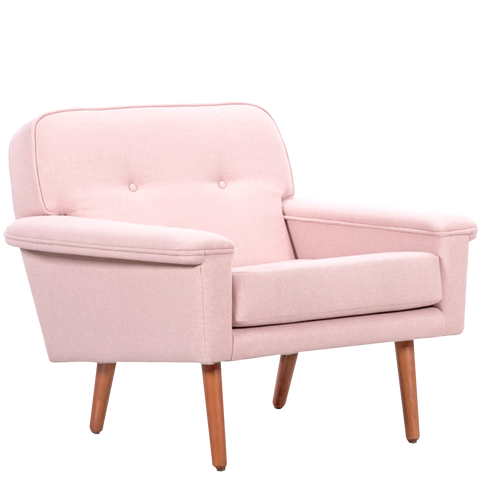 DANISH ARMCHAIR PINK