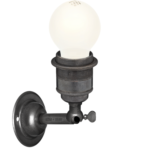 DARK BRASS E27 WALL ARM LIGHTS