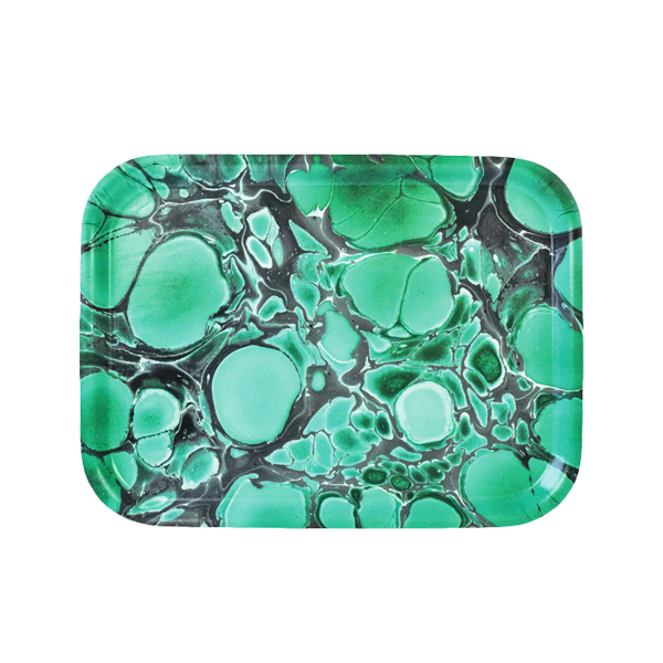 DEEP JADE BREAKFAST TRAY