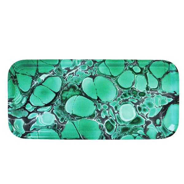 DEEP JADE COCKTAIL TRAY