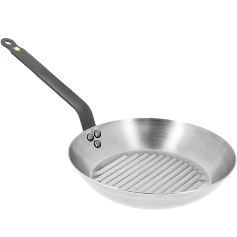 DE BUYER MINERAL B GRILLPAN 26CM - KITCHENWARE - DYKE & DEAN  - Homewares | Lighting | Modern Home Furnishings