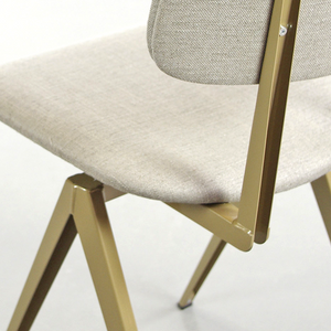 GALVANITAS S16 CHAIR PIQUET BISQUE