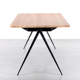 COMPASS DINING TABLE OAK