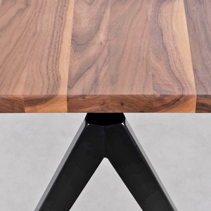 COMPASS DINING TABLE WALNUT