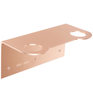 D&D SOAP PUMP DOUBLE WALL BRACKET COPPER