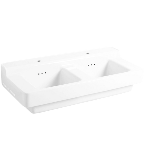 INDUSTRIALIS CERAMIC WALL & COUNTER SINK DOUBLE