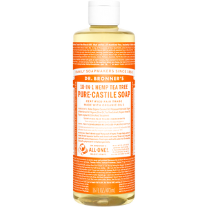 TEA TREE PURE CASTILE LIQUID SOAP 473ml
