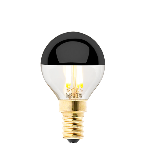 DYKE & DEAN LED BLACK CAP E14 BULB - BULBS - DYKE & DEAN  - Homewares | Lighting | Modern Home Furnishings