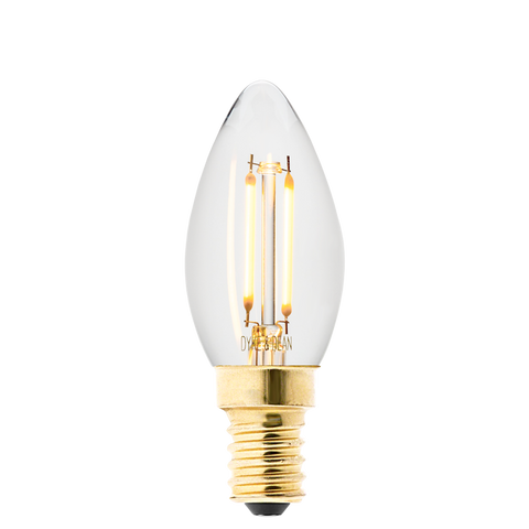LED FILAMENT CANDLE E14 BULB