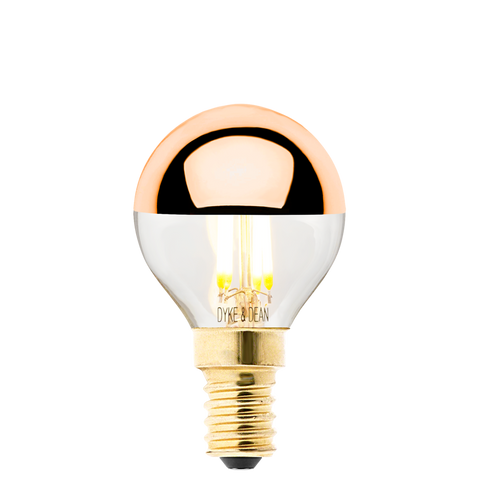 DYKE & DEAN COPPER CAP BULB E14 - BULBS - DYKE & DEAN  - Homewares | Lighting | Modern Home Furnishings