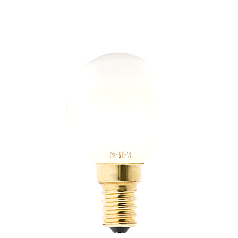 DYKE & DEAN LED GOLF BALL OPAL E14 BULB