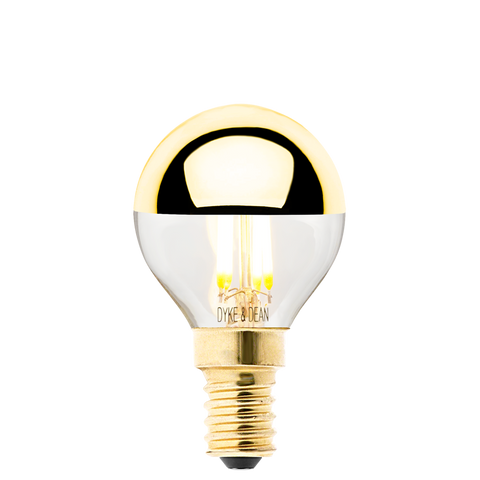 DYKE & DEAN LED GOLD CAP E14 BULB - BULBS - DYKE & DEAN  - Homewares | Lighting | Modern Home Furnishings