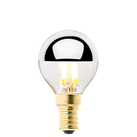 DYKE & DEAN LED SILVER CAP E14 BULB - BULBS - DYKE & DEAN  - Homewares | Lighting | Modern Home Furnishings