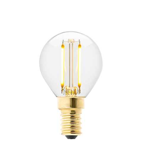 DYKE & DEAN LED GOLF BALL E14 BULB - BULBS - DYKE & DEAN  - Homewares | Lighting | Modern Home Furnishings