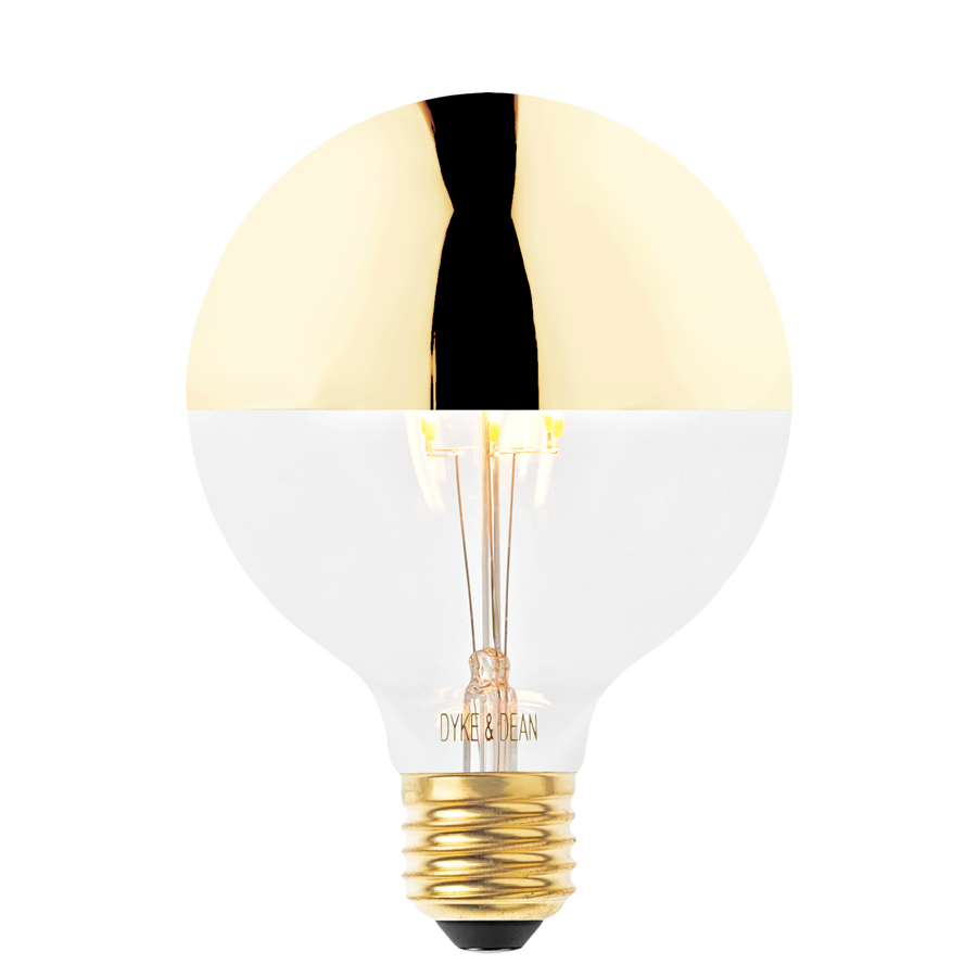 MEDIUM GOLD CAP BULB