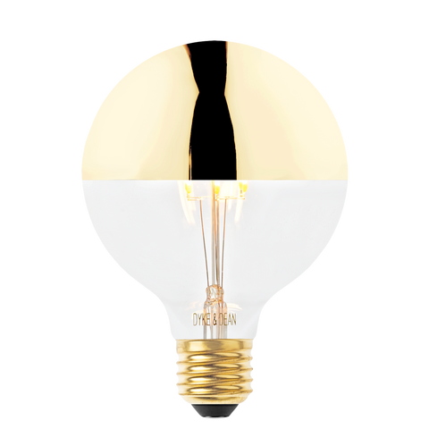 LED GOLD MEDIUM CAP BULB