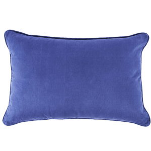 TERRAZZO CUSHION RECTANGLE WHITE & BLUE