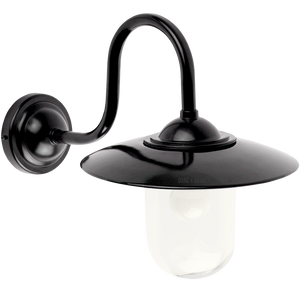 SWAN NECK ENAMEL SHADE WALL LAMP - BATHROOM / OUTDOOR LIGHTS - DYKE & DEAN  - Homewares | Lighting | Modern Home Furnishings