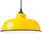 ENAMEL YELLOW NECK VENT SHADE