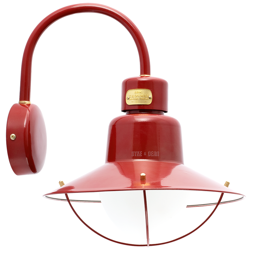 CADIZ ARM SHADE MAROON LAMP IP44