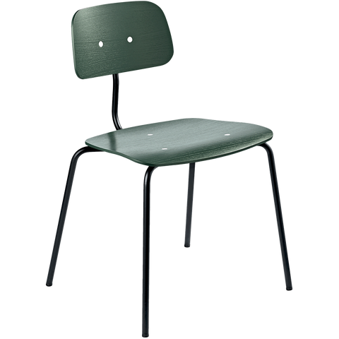 KEVI 2060 DINING CHAIR BOTTLE GREEN