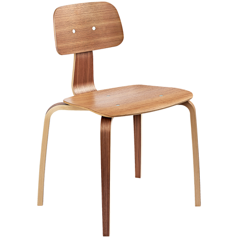 KEVI 2070 CHAIR WALNUT