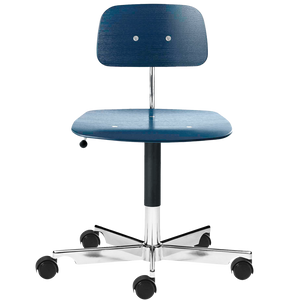 KEVI 2533 OFFICE CHAIR ASH MIDNIGHT BLUE