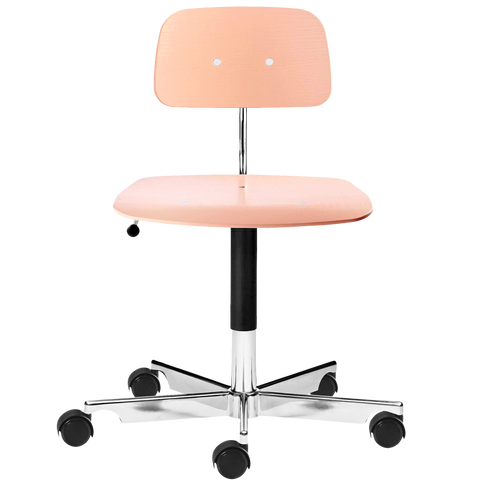 KEVI 2533 OFFICE CHAIR ASH SOFT ROSE
